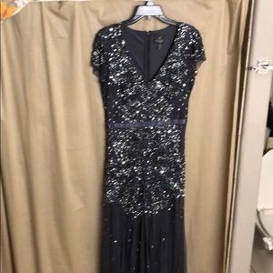Beaded and Sequined Dress - Adrianna Papell